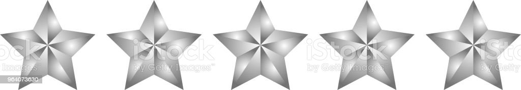 0 Gorgeous star rating bar - Royalty-free Abstract stock vector