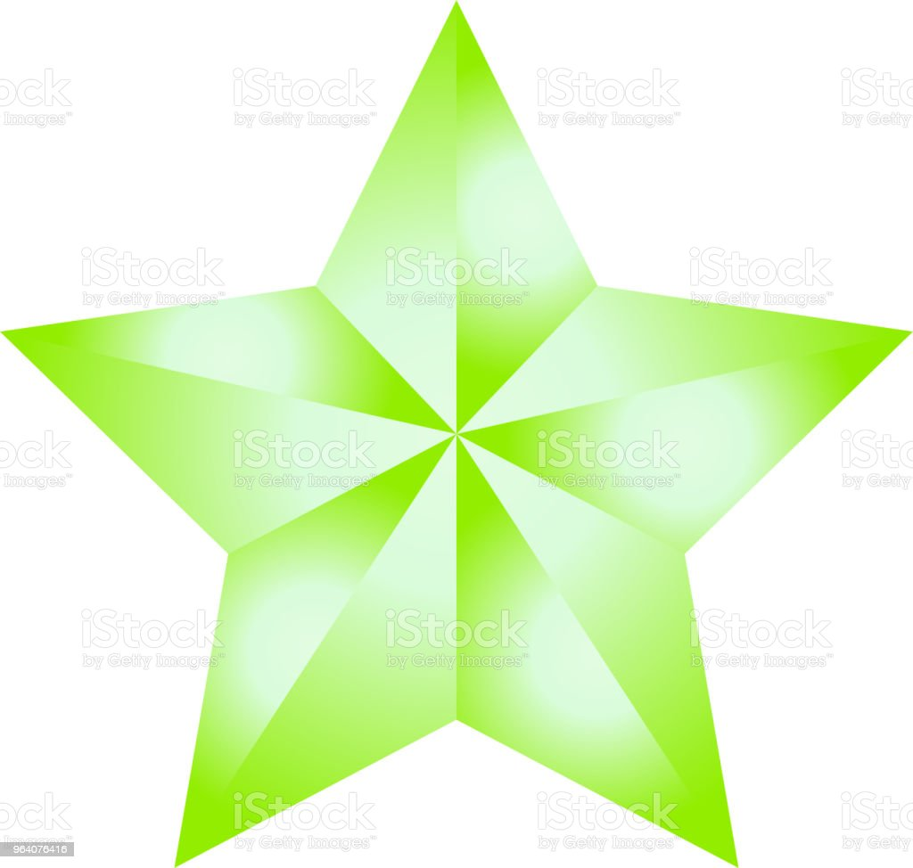 Gorgeous star - Royalty-free Abstract stock vector