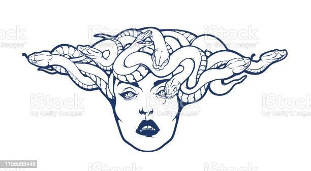 Medusa Logo Free Vector Art 3 Free Downloads