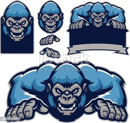 istock Gorilla kit 463546995