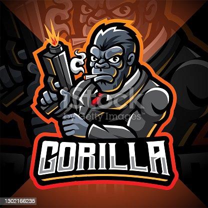 istock Gorilla 1302166235