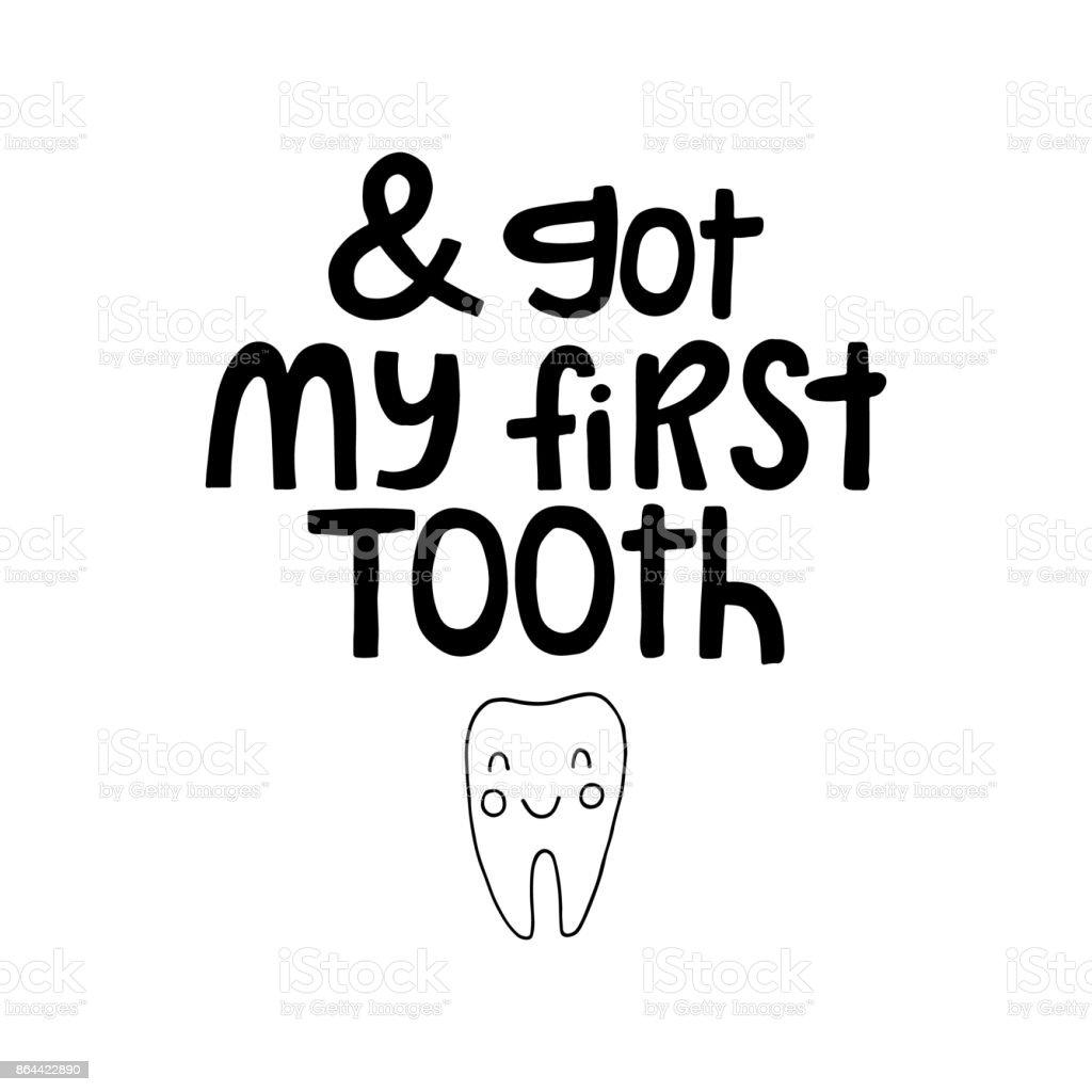 Ich Habe Meinen Ersten Zahn