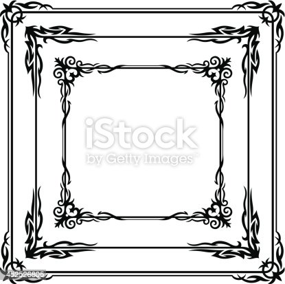 istock Gothic Borders 452526805