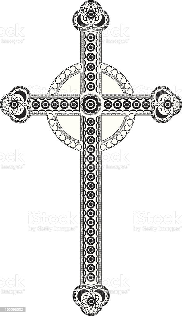 Gothic cross royalty-free gothic cross stock vector art & more images of black and white