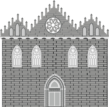 Gothic style architecture