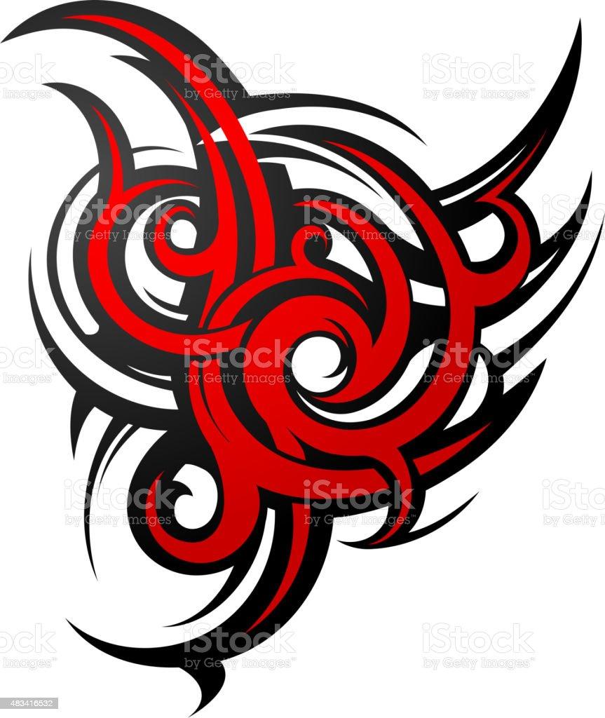 Tatouage Gothique Forme Cliparts Vectoriels Et Plus D Images De