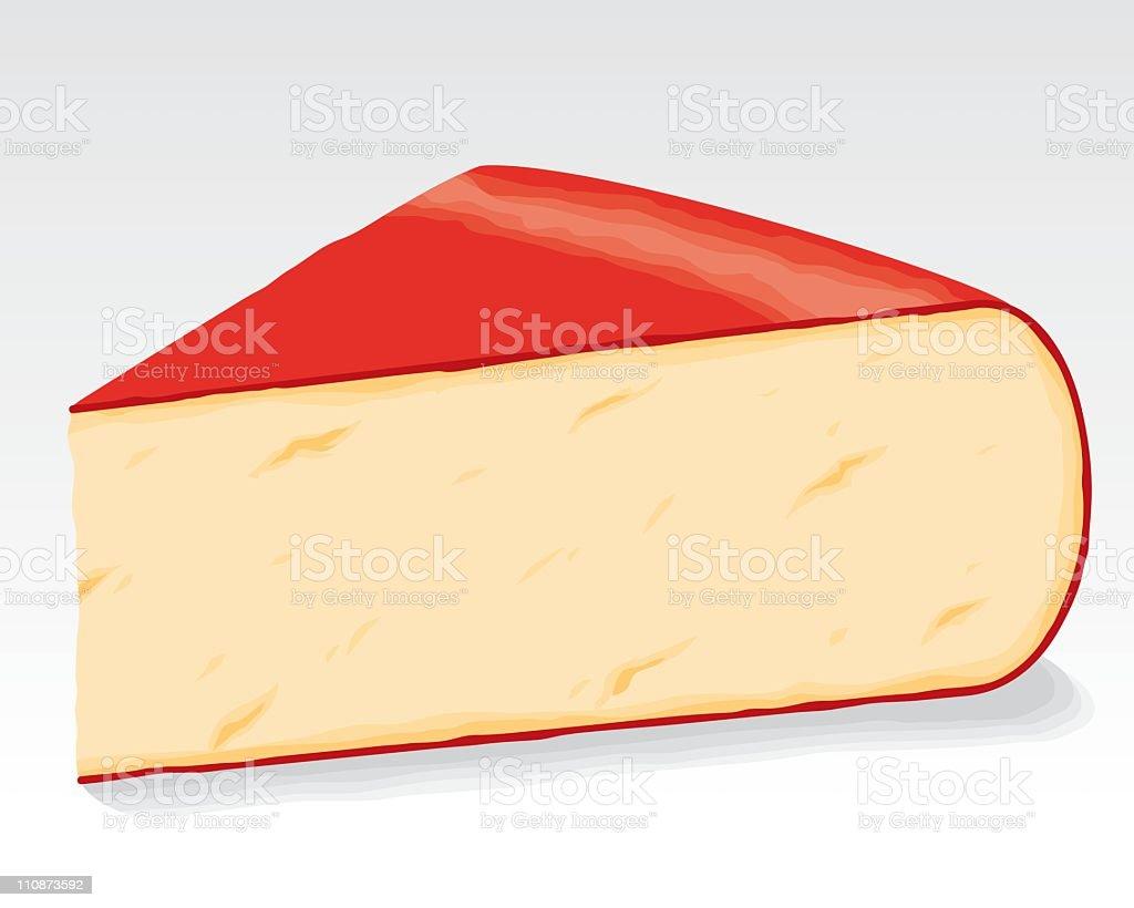 Gouda Cheese royalty-free stock vector art