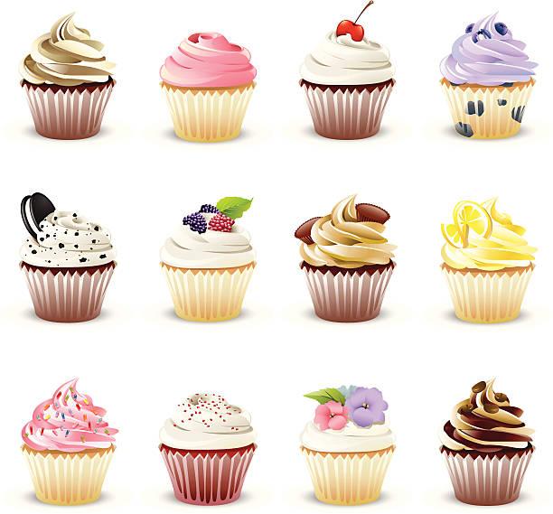 Gourmet Cupcakes http://www.cumulocreative.com/istock/File Types.jpg cupcake stock illustrations