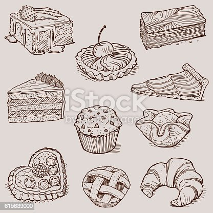 Gourmet Desserts and Bakery Collection