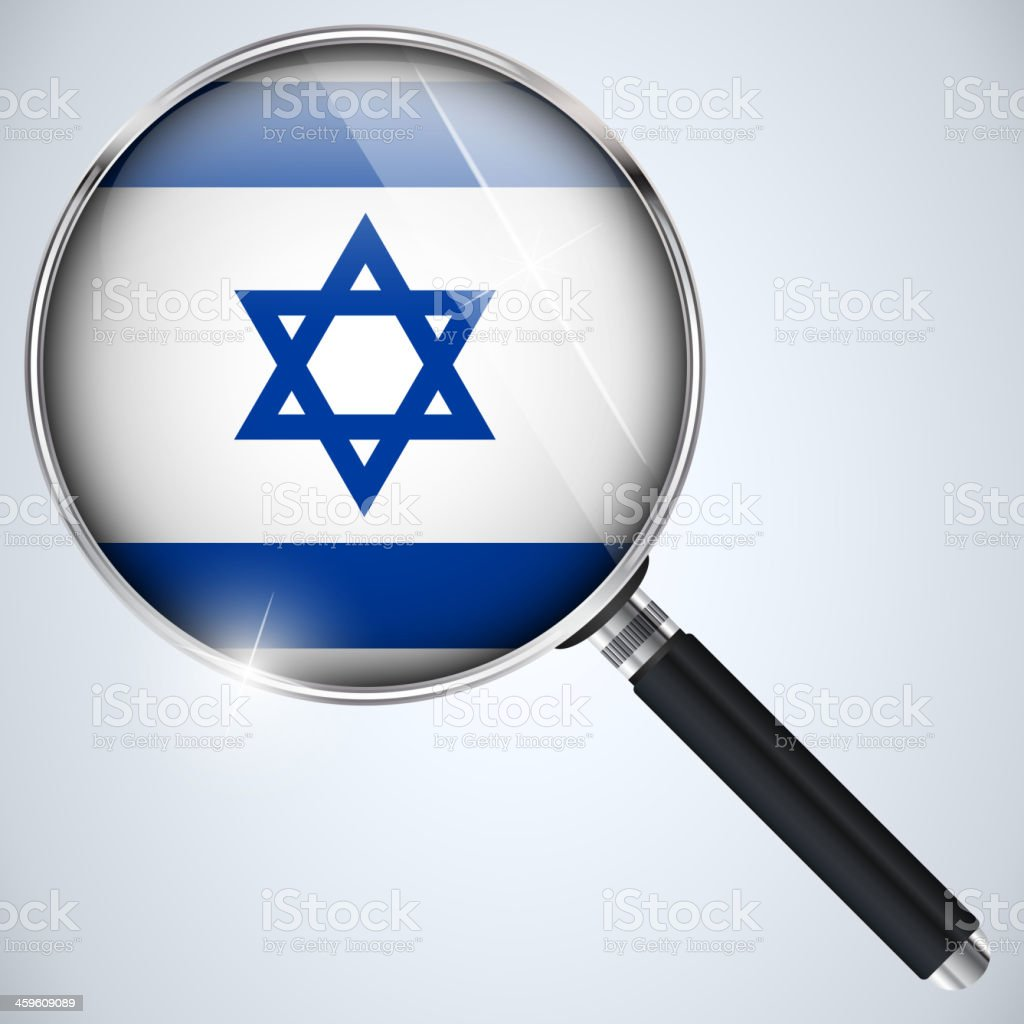 NSA USA Government Spy Program Country Israel royalty-free nsa usa government spy program country israel stock vector art & more images of analyzing