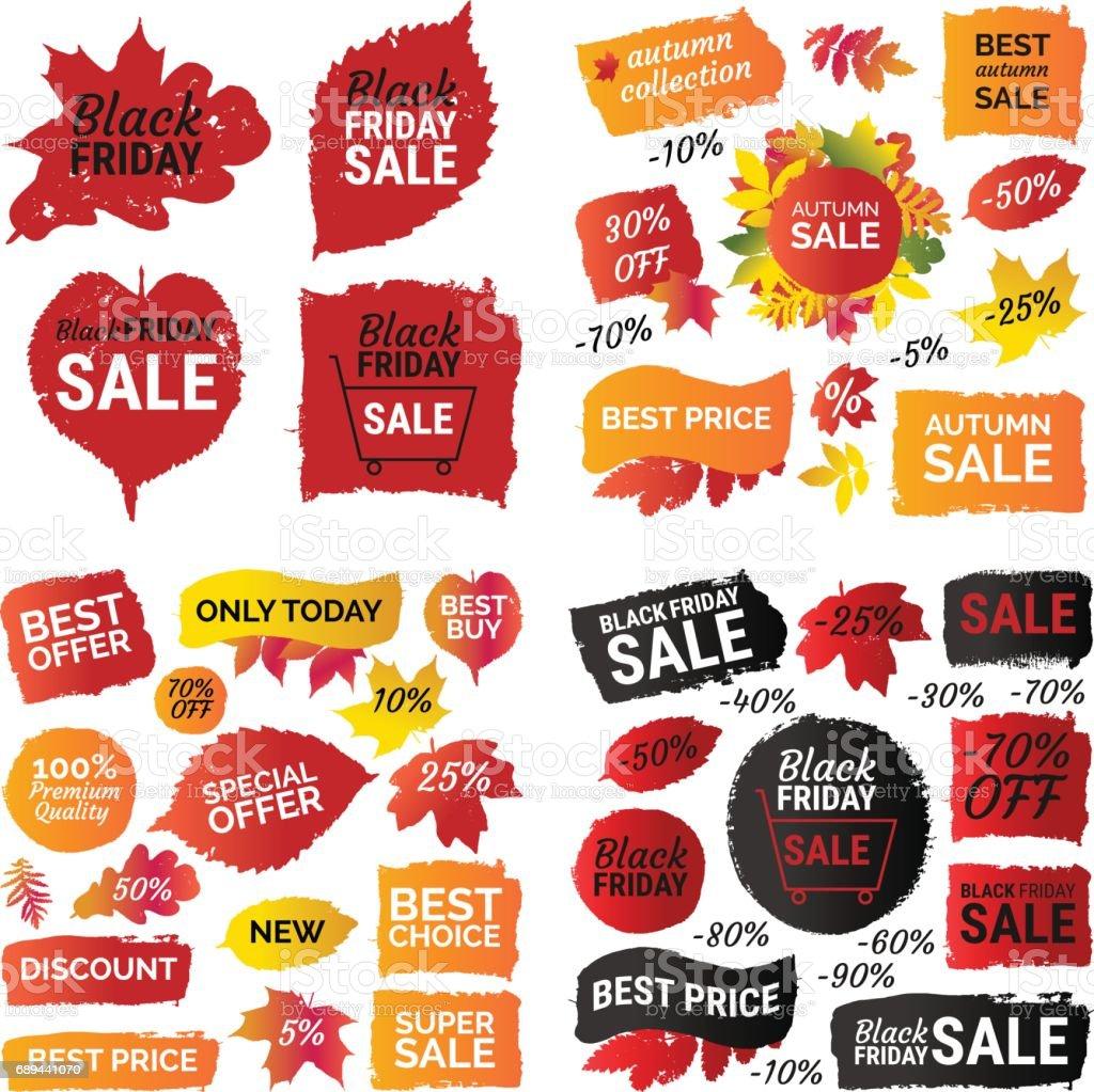 gradient autumn leaves prints black friday sale best price gradient