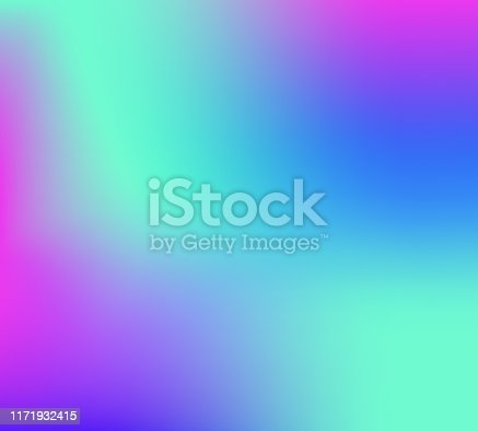 Bright colors swirl against background