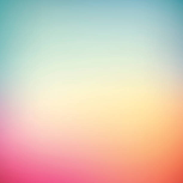 gradient background - double exposure stock illustrations