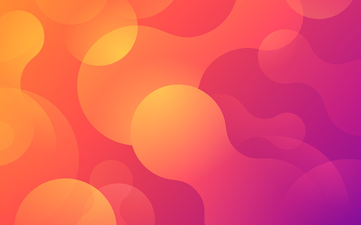Gradient Blob Abstract Background