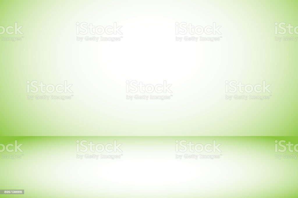 gradient green background with copy space using as simple clean background or wallpaper vector art illustration