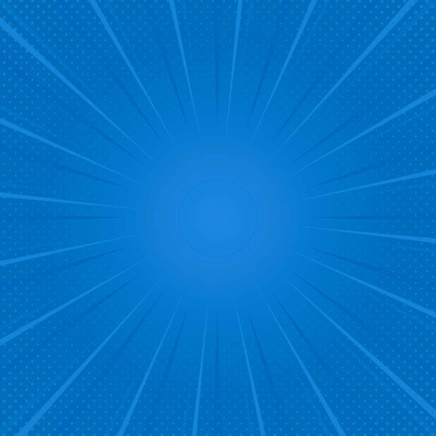 Gradient halftone in blue Blue gradient halftone background vector blue backgrounds stock illustrations