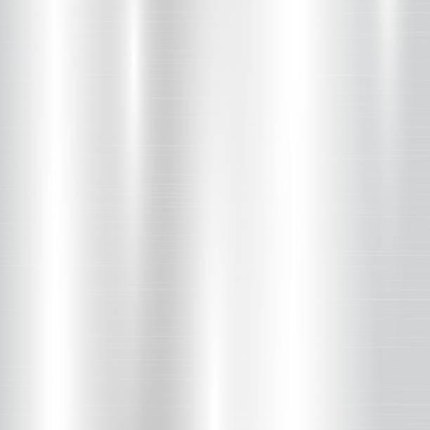 빛 금속 그라데이션 - 크롬 stock illustrations
