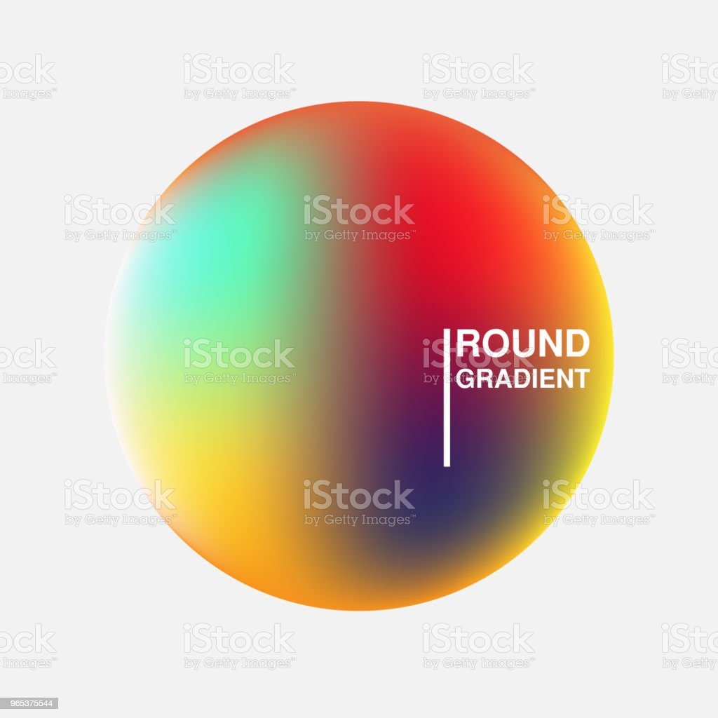 Gradient orbs isolated on white background royalty-free gradient orbs isolated on white background stock vector art & more images of abstract