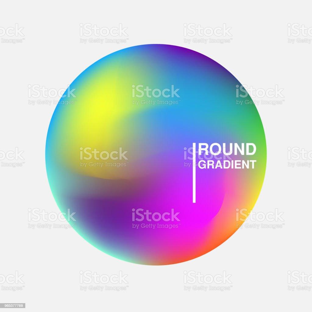 Gradient orbs isolated on white background gradient orbs isolated on white background - stockowe grafiki wektorowe i więcej obrazów abstrakcja royalty-free