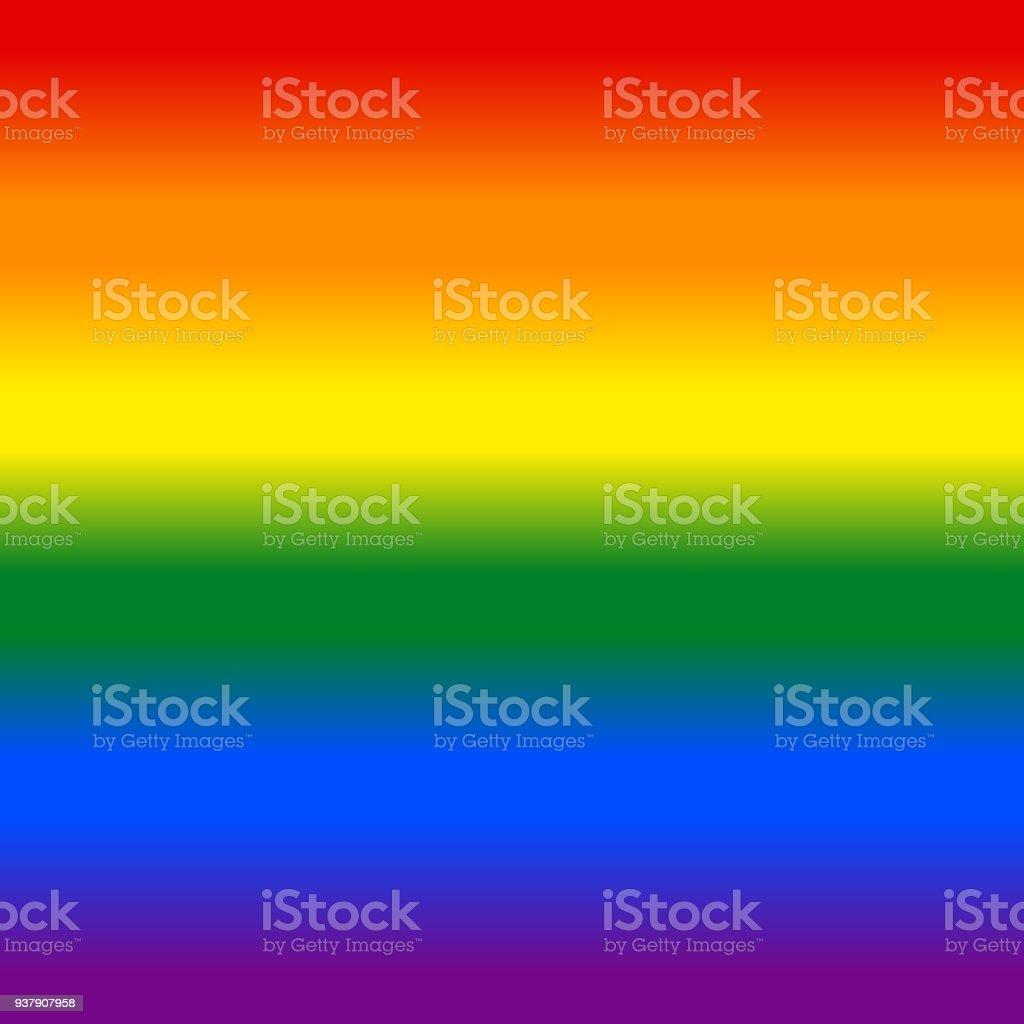 Gradient Rainbow Flag LGBT Background vector art illustration