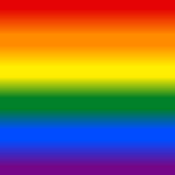 Gradient Rainbow Flag LGBT Background Rainbow pride flag LGBT movement background in gradient fill. Graphic element for design saved as an vector illustration in file format EPS 8 rainbow stock illustrations