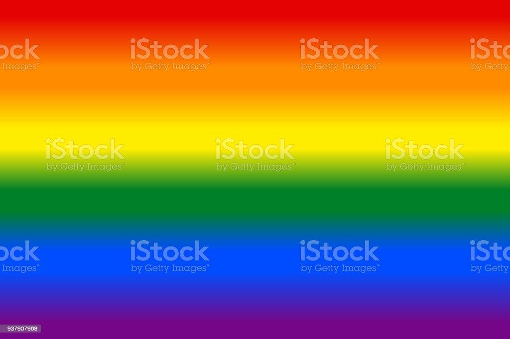 Fondo de degradado arco iris bandera LGBT - ilustración de arte vectorial