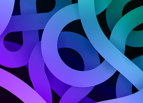 Gradient Swirl Abstract Glow Modern Lines Background Pattern