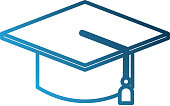 graduate cap kid education school