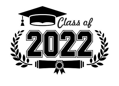 2022 graduate class logo