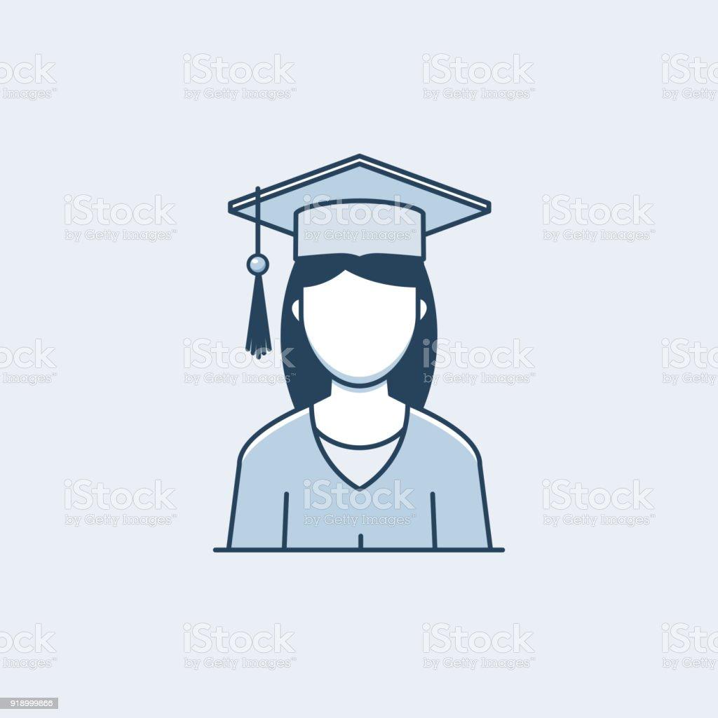 Ilustración De Mujer Graduada Y Más Vectores Libres De
