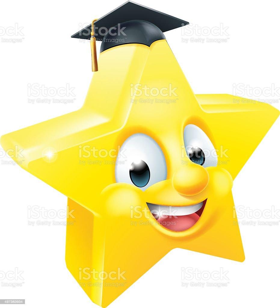 Girl Smiley Face Graduation Clip Art Clipart Vector Design