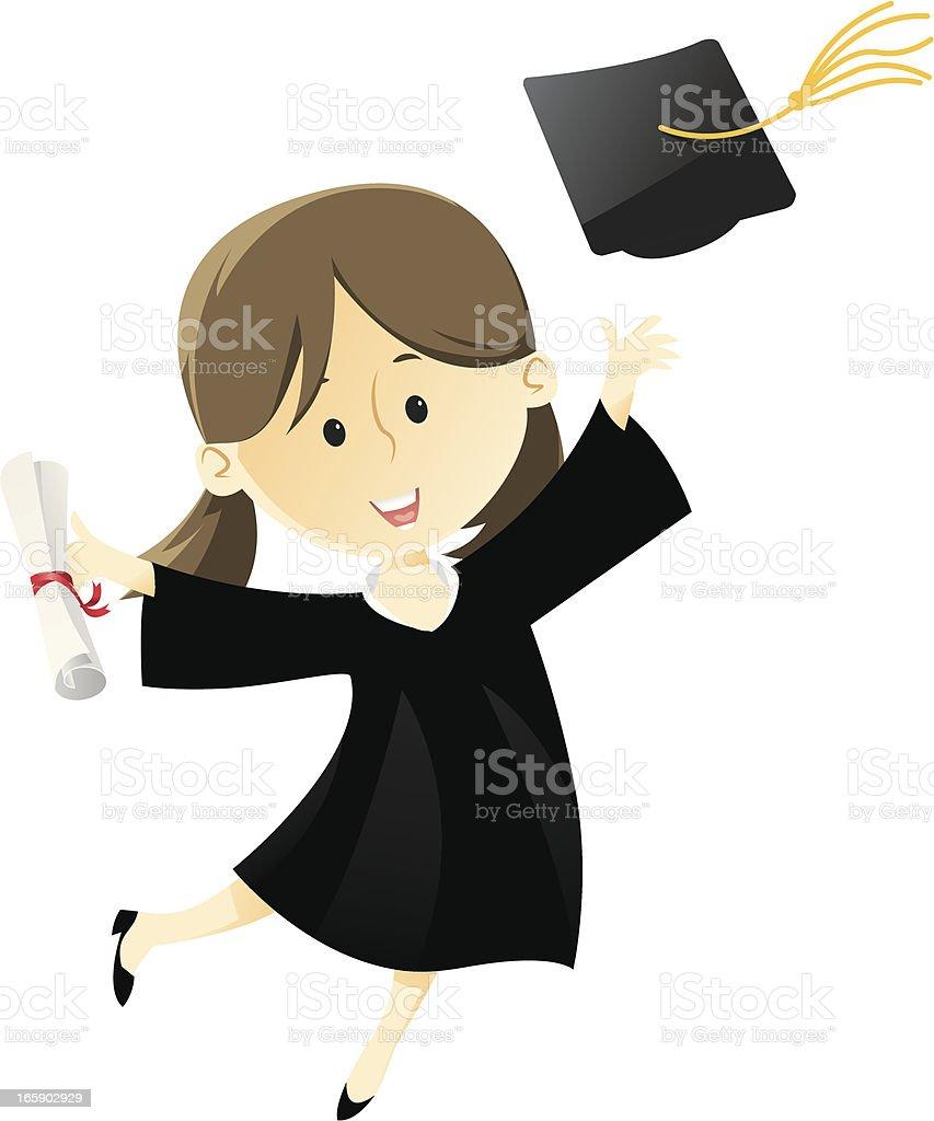 Graduate(2) royalty-free graduate stock vector art & more images of achievement