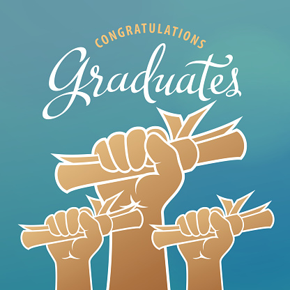Graduates Holding Certificates