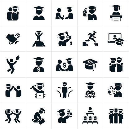 Graduates Icons
