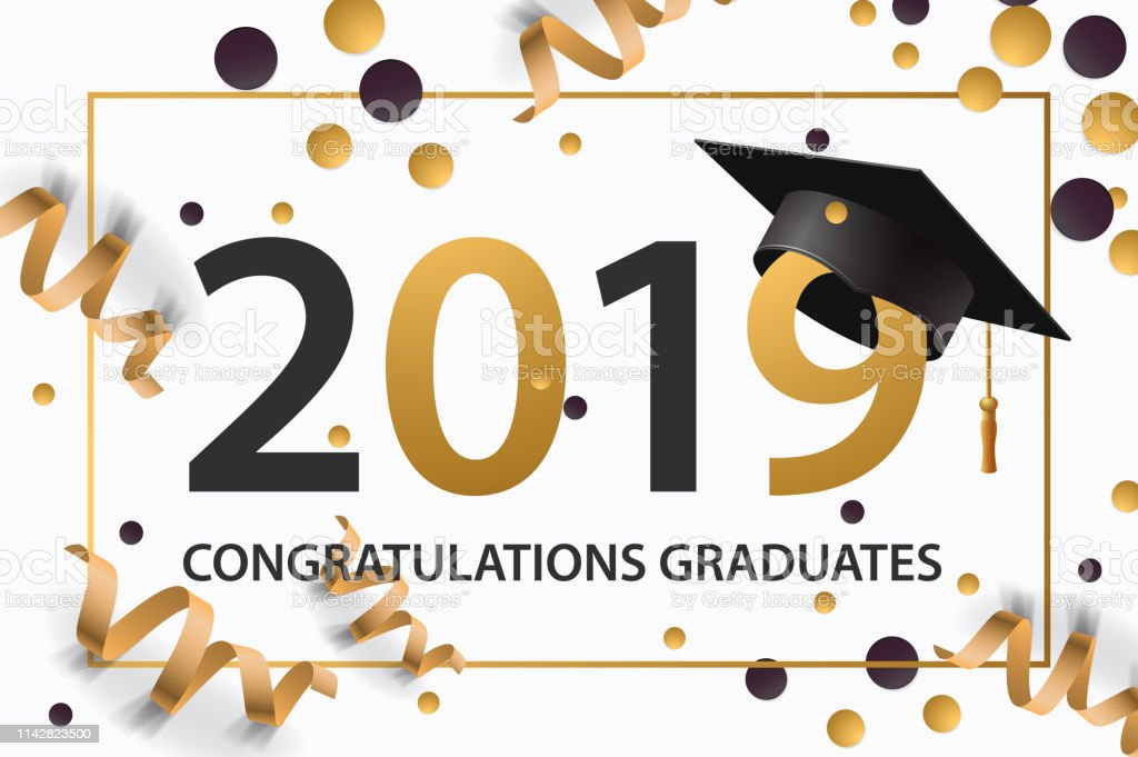 Graduation Card Card for Graduation Grad Card Grad Card Congratulations Graduate of 2019 Graduation Graduate of 2019 Graduation 2019