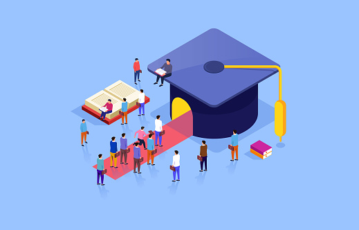 Graduation cap and education