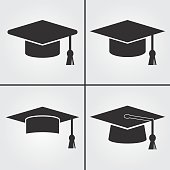 Graduation Cap Icons