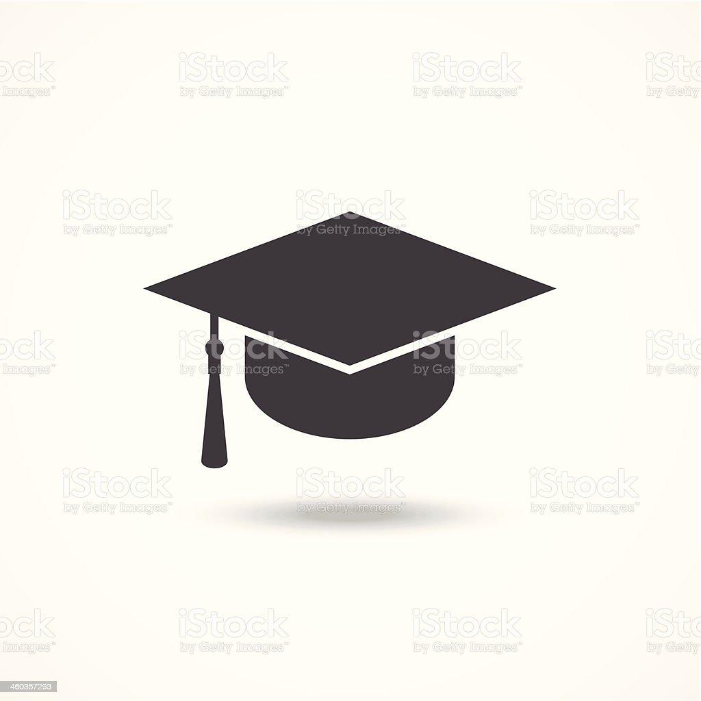 Graduation Cap Vector Clipart