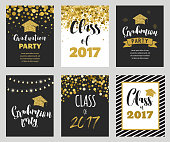Graduation Class of 2017, party invitations