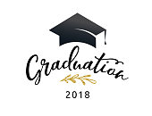 Graduation Class of 2018, party invitations, posters, banner