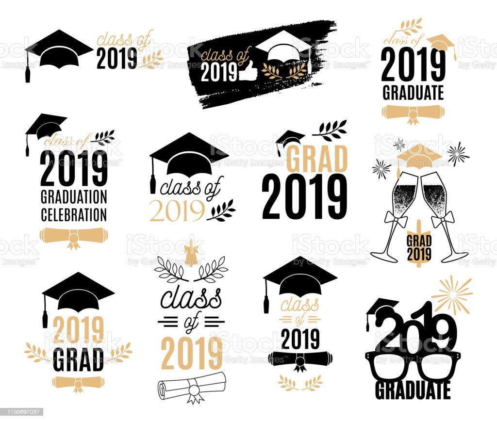 Class Of 2019 Illustrations  Royalty