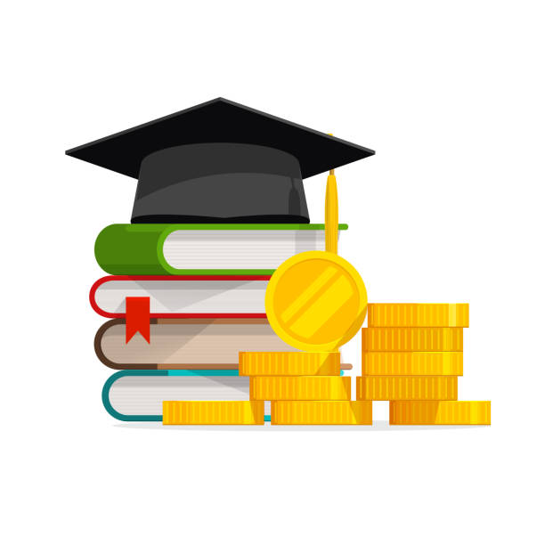education money stock illustrations