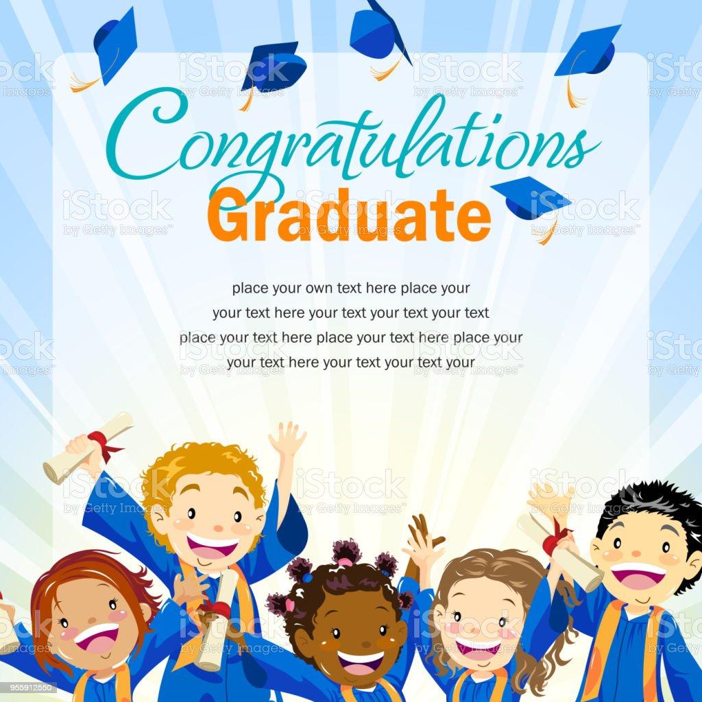 Graduation Day Invitation Stock Illustration - Download Image Now - iStock