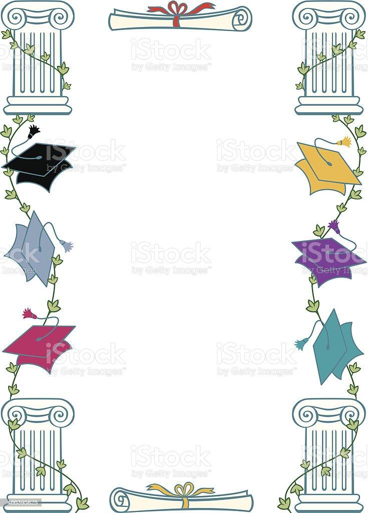 Graduation Frame C Stock Illustration Download Image Now Istock
