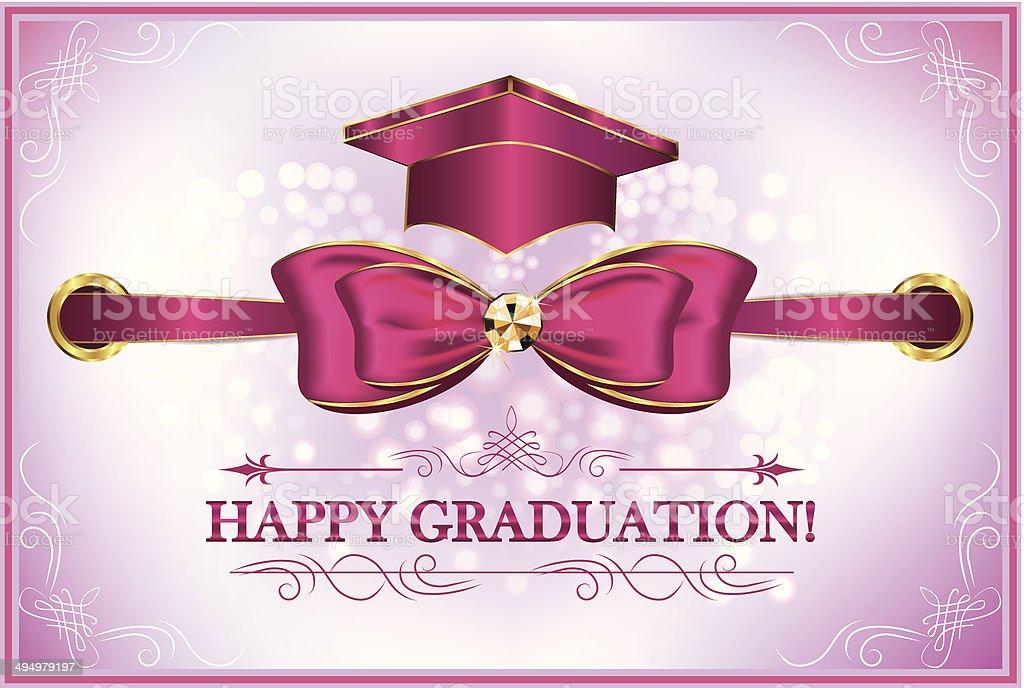 Graduation greeting card happy graduation stock vector art more graduation greeting card happy graduation royalty free graduation greeting card happy graduation stock m4hsunfo