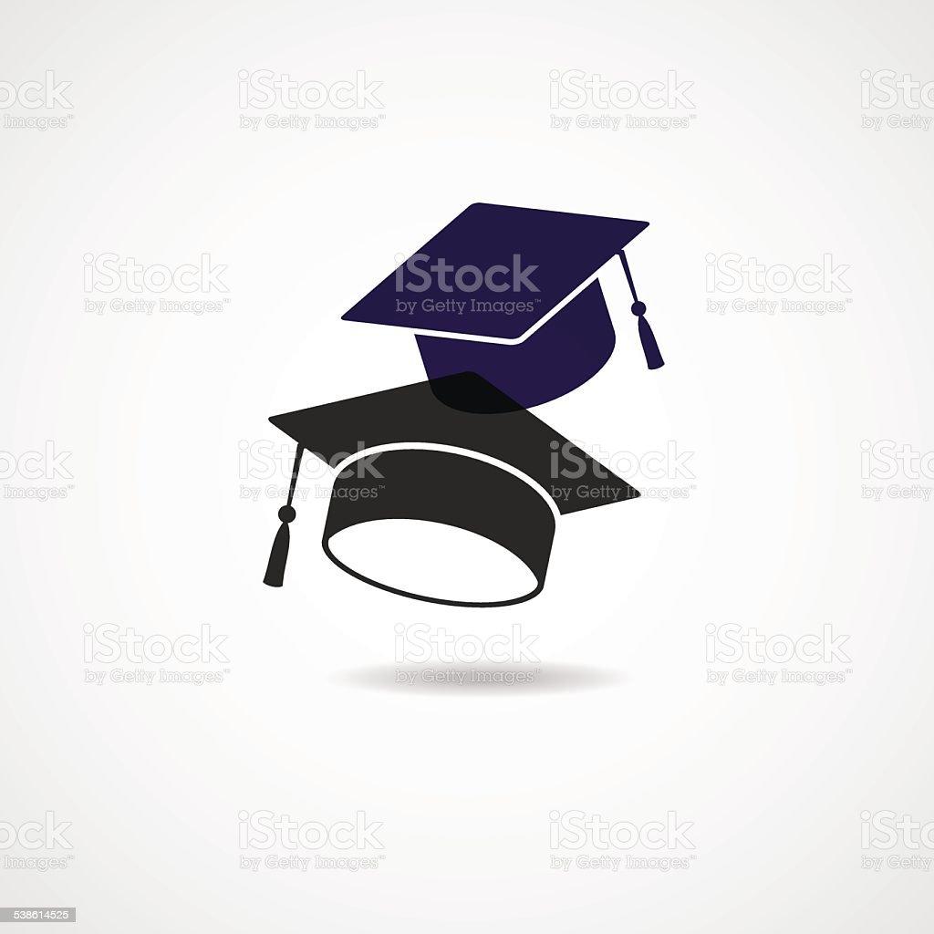 Vettore simbolo Cappello di laurea vettore simbolo cappello di laurea -  immagini vettoriali stock e altre eb181b5e6ca7