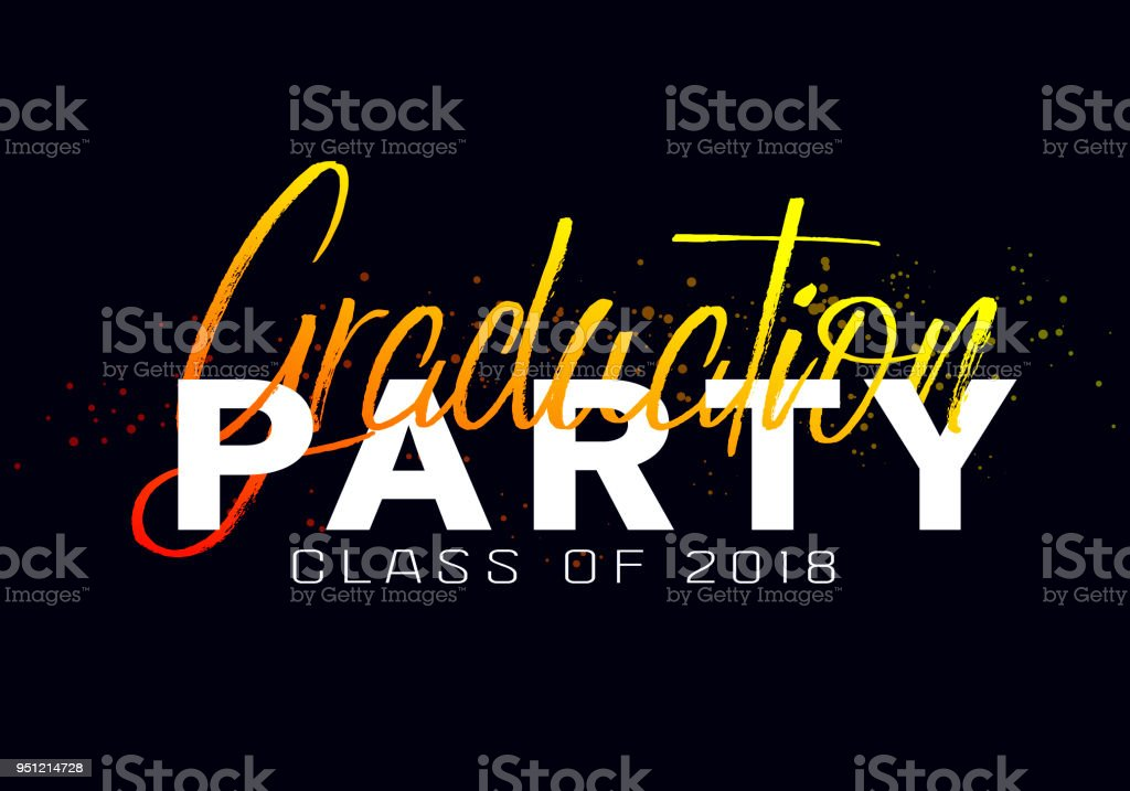 graduation label vector text for graduation design congratulation