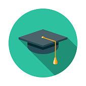 istock Graduation Mortarboard E-Learning Icon 1223692380