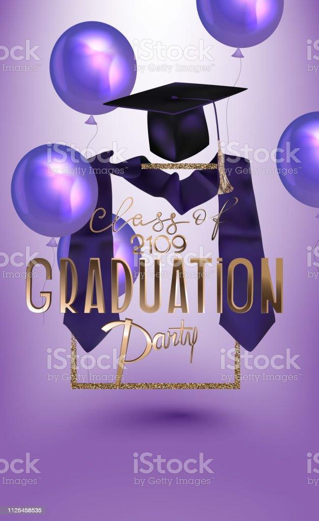 graduation caps in air illustrations  royalty