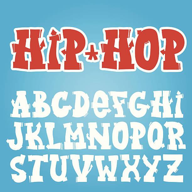 illustrations, cliparts, dessins animés et icônes de graffiti polices - hip hop
